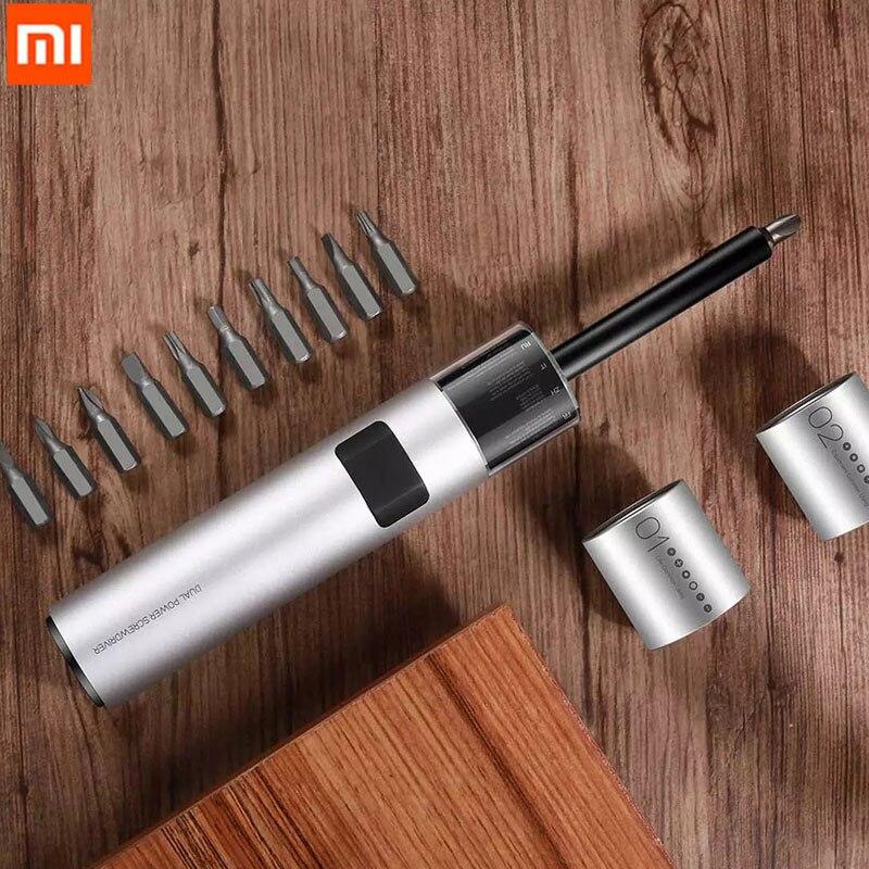 Xiaomi wowstick SD, dual power, batería de litio, juego de destornilladores para el hogar, modo dual independiente, 3led, luz plateada sin sombra