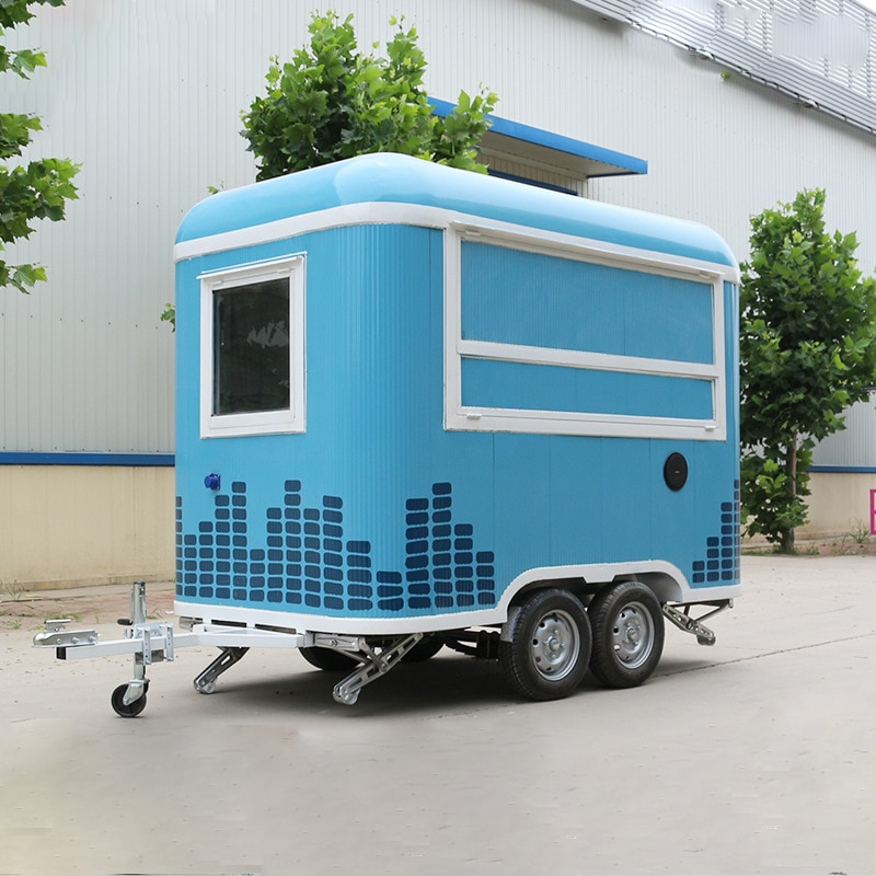 Undefined Off Hot Dog Rimorchio Mobile Mini Cucina Gelato Fast Food Ice Cream Truck