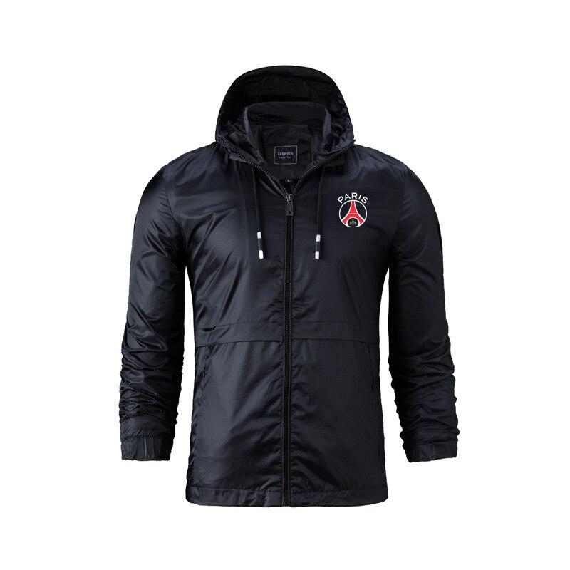 Весенне-осенние куртки для молодых и средних лет, новые спортивные куртки 2021, универсальные повседневные куртки, тонкие мужские пальто