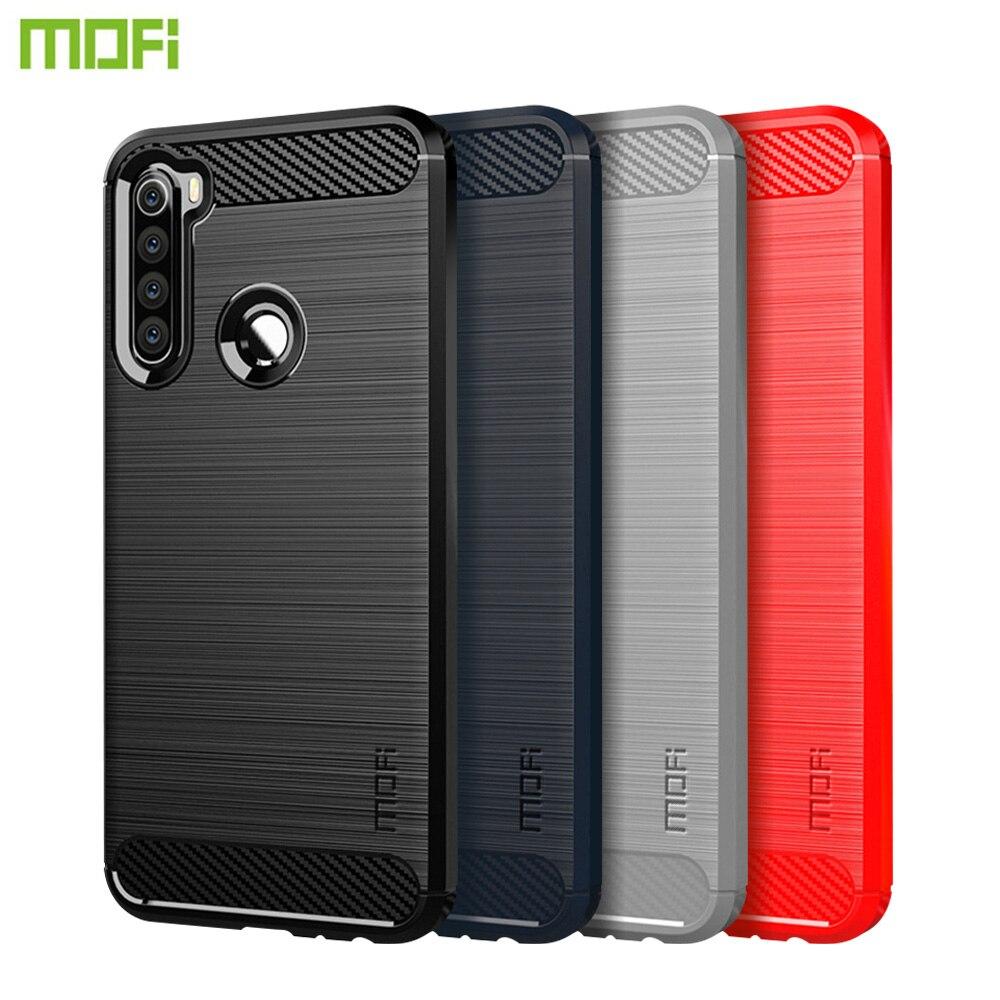 MOFi Für Xiaomi Redmi Hinweis 8 Fall Abdeckung Luxus Weiche Faser TPU Silikon Telefon Fällen Zurück Abdeckung Für Xiaomi Redmi hinweis 8