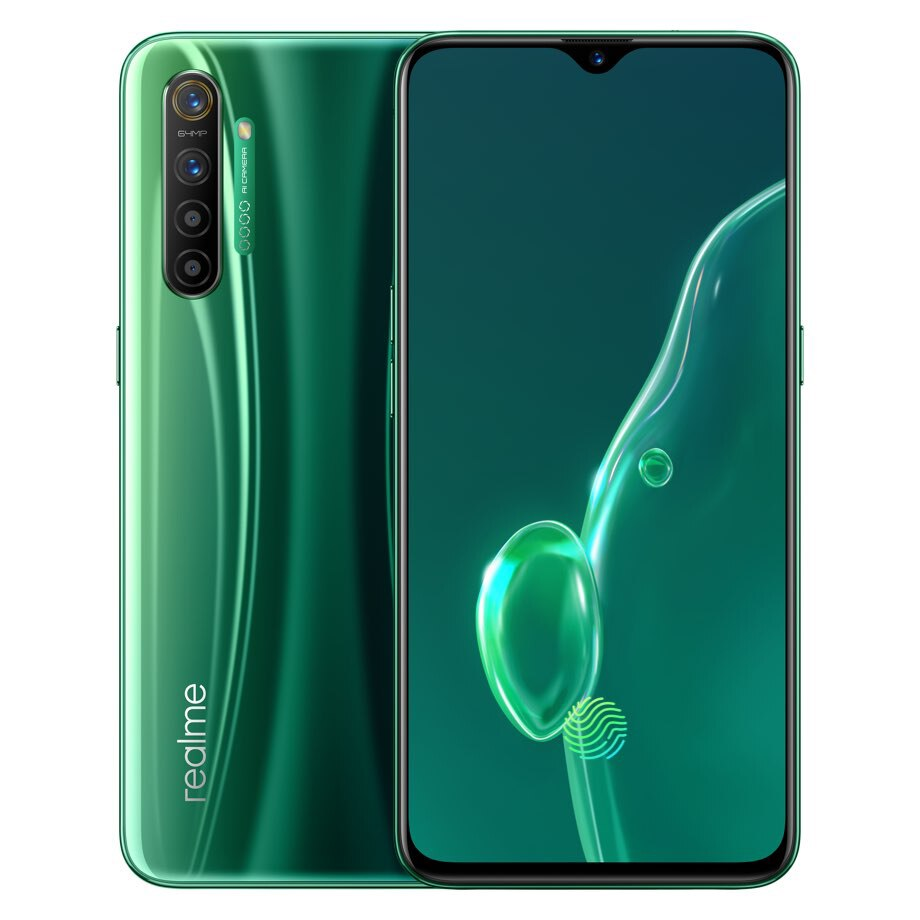 Фото3 - Сотовый телефон realme X2 X 2, 8 Гб 128 ГБ, NFC, экран 6,4 дюйма, Snapdragon 730G, 64-мегапиксельная четырехъядерная камера, 30 Вт, VOOC, быстрая зарядка, версия CN