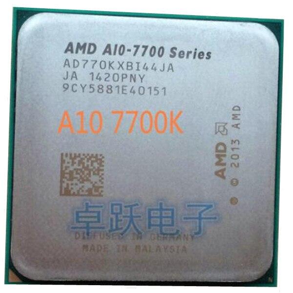 AMD A10-Series A10 7700K A10 7700 A10-7700K 3,4 GHz Quad-Core CPU Processor Socket FM2 + envío gratis