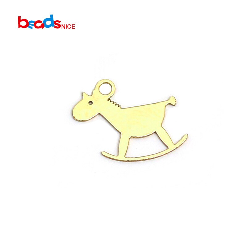 Beadsnice ID40043smt2 Gold Gefüllt Hund Charme Pudel Anhänger Schmuck Armband Charme Komponente Großhandel Versorgung