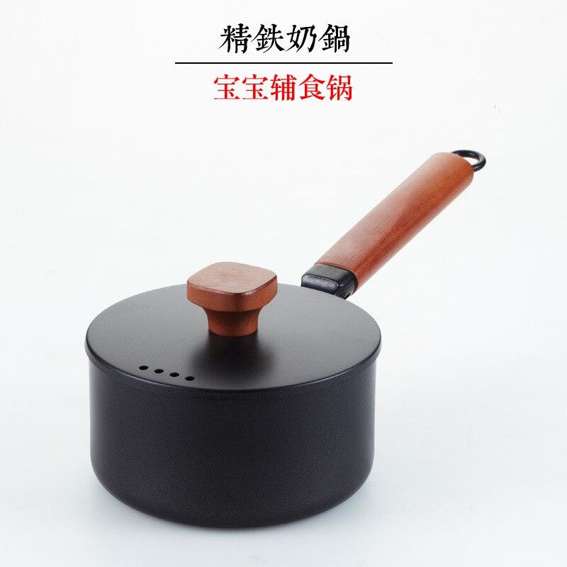 المطبخ الطبخ وعاء الزهر الحديد غير عصا عموم كسرولة اللبن دائم غير عصا المقالي متعددة الوظائف الفورية البسيطة الحساء قدر للحليب (لبّانة)