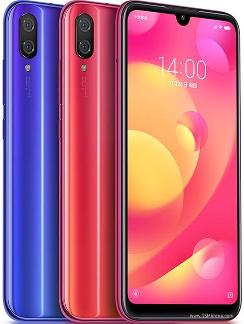 celular Xiaomi mi play smartphone MT6765 Helio P35 1080 x 2280 pixels Fingerprint instock big promotion