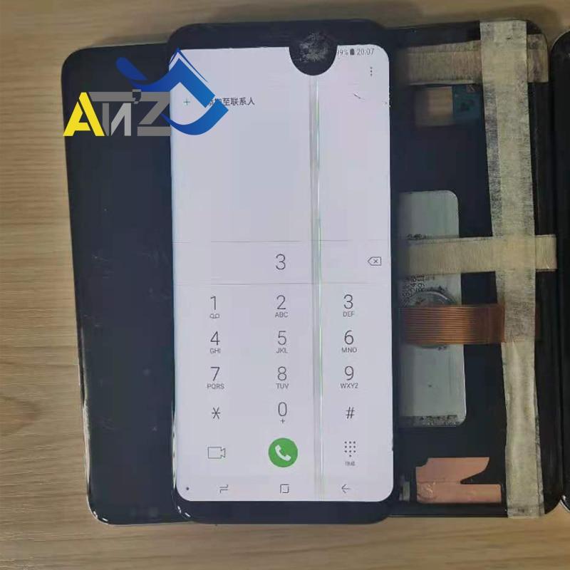 ЖК-дисплей для Samsung Galaxy S6 S7 Edge S8 S9 S10 Plus S20 Ultra S20Plus Note 8/9/10 с рамкой