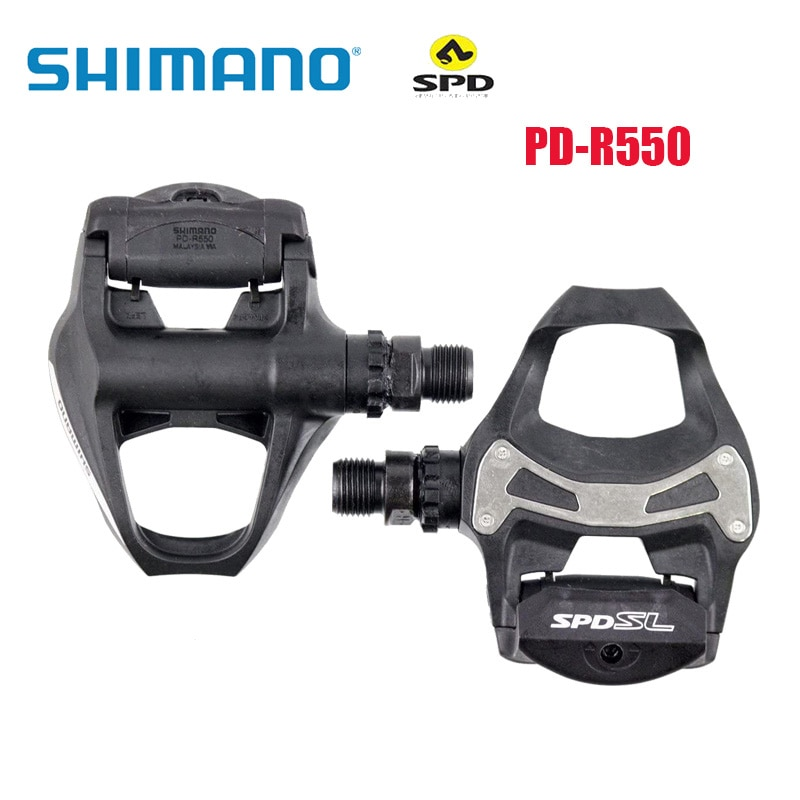 Pedales de SPD-SL para bicicleta de carretera, pedales de PD-R550, Pedal de...