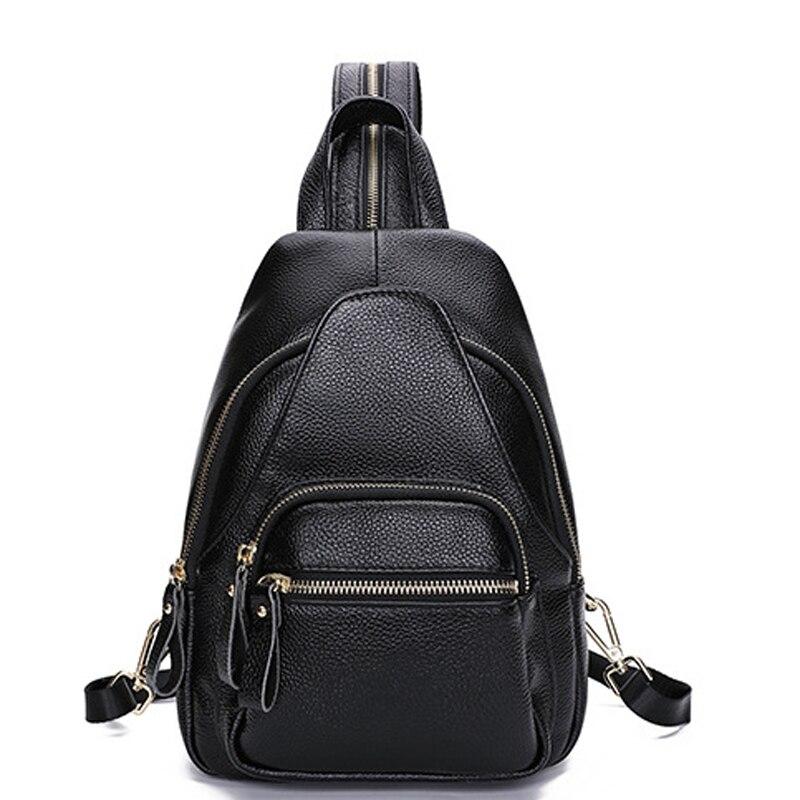 2021 جديد جلد الإناث حقيبة رئيس طبقة جلد البقر موضة بسيطة صغيرة على ظهره برج أبيض حقيبة السفر