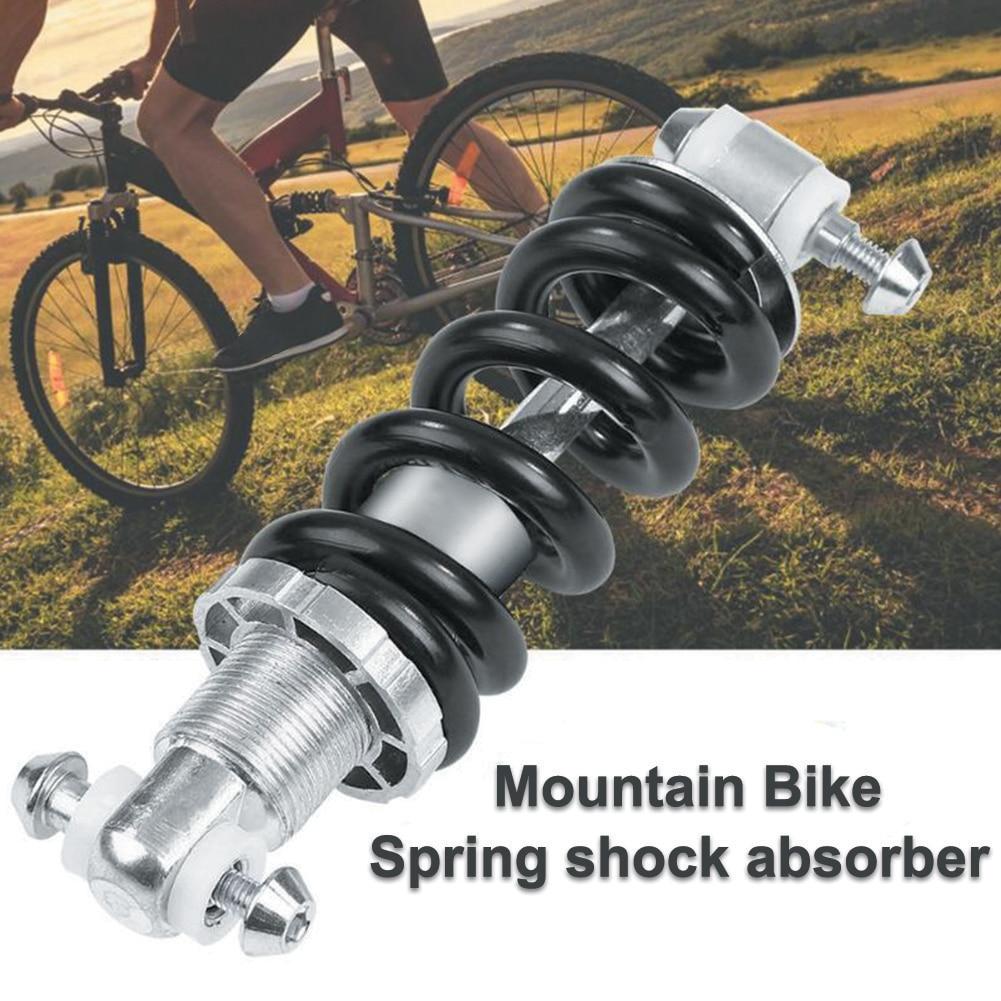 MTB bicicleta de montaña Metal trasero tope de suspensión resorte amortiguador bicicleta partes choque trasero 125mm 450LBS