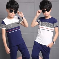 teen boys clothing sets summer boys clothes casual outfit kids tracksuit for boys sport suit children clothing 4 6 8 10 12 years