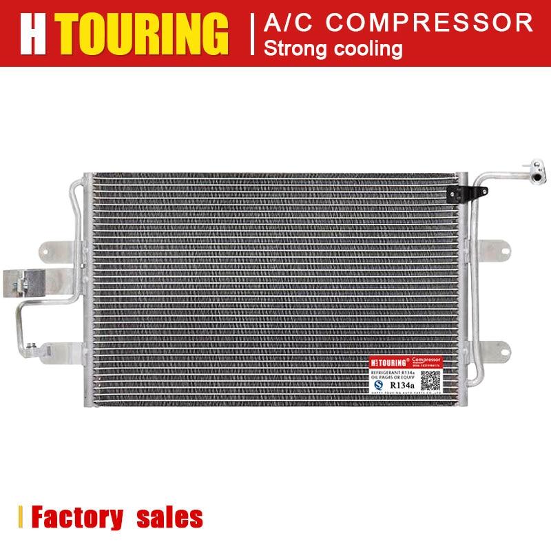 AC Air Conditioning A/C Condenser Radiator for Skoda OCTAVIA Seat TOLEDO Mk II LEON 1J0820413B 1J0820413L 1J0820413E 1J0820413N