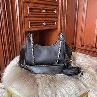 2020 luxury handbags women bags designer women black handbag shoulder bag for women main ladies bags
