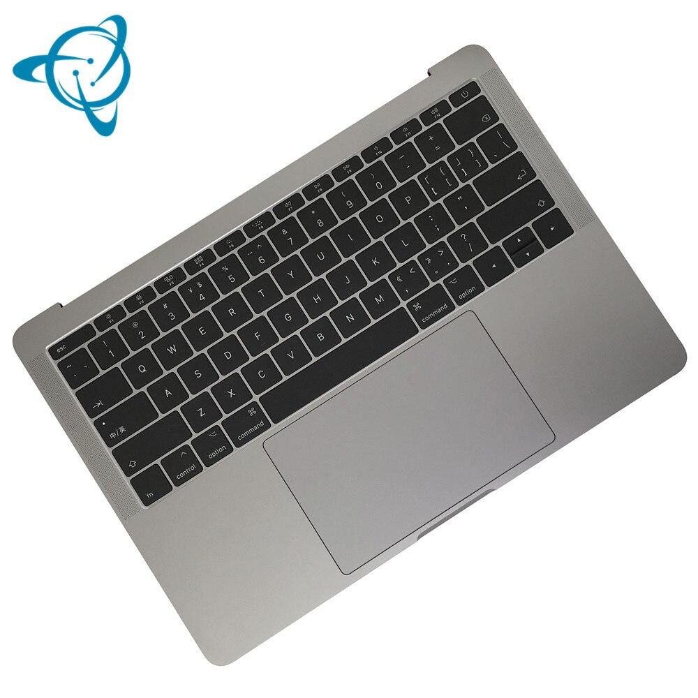 شنيان A1708 Topcase لماك بوك برو الشبكية 13.3 بوصة أفضل مع الولايات المتحدة لوحة المفاتيح لوحة المفاتيح الخلفية 2016 2017 فضي رمادي