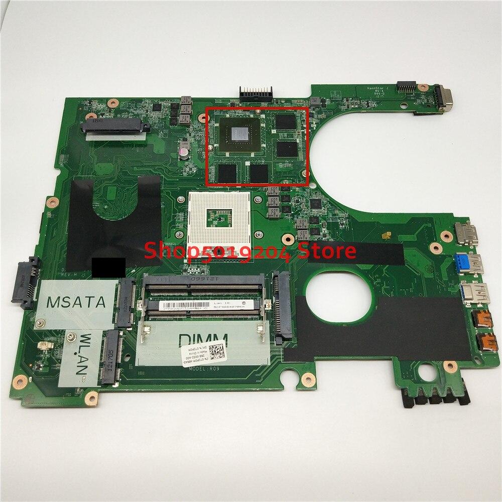 Para DELL 7720 5720 laptop motherboard CN-072P0M R09 072P0M 72P0M DA0R09MB6H1 DA0R09MB6H3 17R N7720 Mainboard