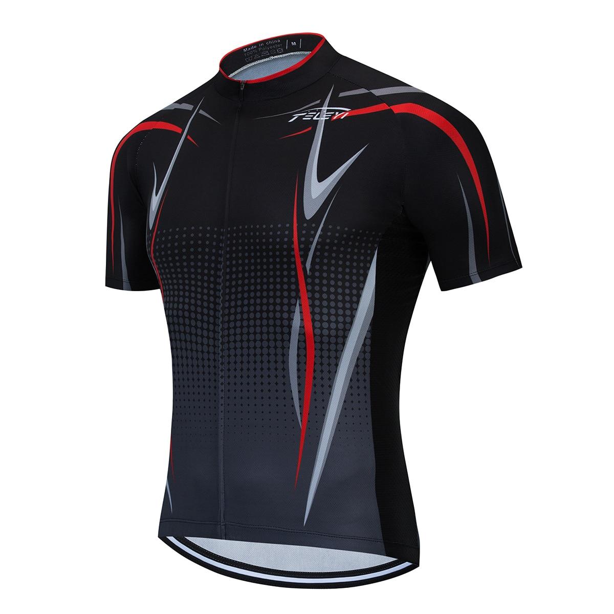 Pro Team-camisetas de manga corta para Ciclismo, camisetas de verano para hombre para Ciclismo de montaña o de carretera, 2020