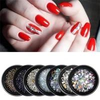 nail art accessories stud glitter rhinestone crystal gem bead 3d tips diy design decoration acrylic uv gel manicure tools