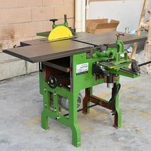 ML393B Machine-outil multi-usages rabot/tronçonneuse/électrique bois rabot bureau machines à bois 220V/380V 2.2KW 6.5 m/min