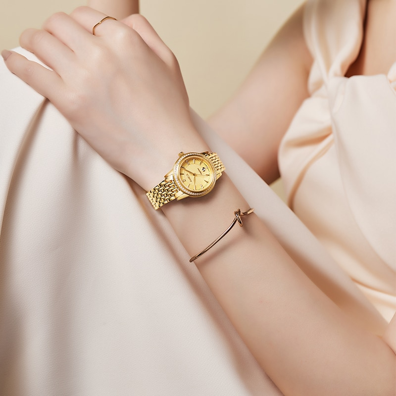 AMICA Luxury Women Watches VIntageLadies Classic Wrist Watches Magnetic Women Bracelet Watch For Female Clock Relogio Feminino enlarge