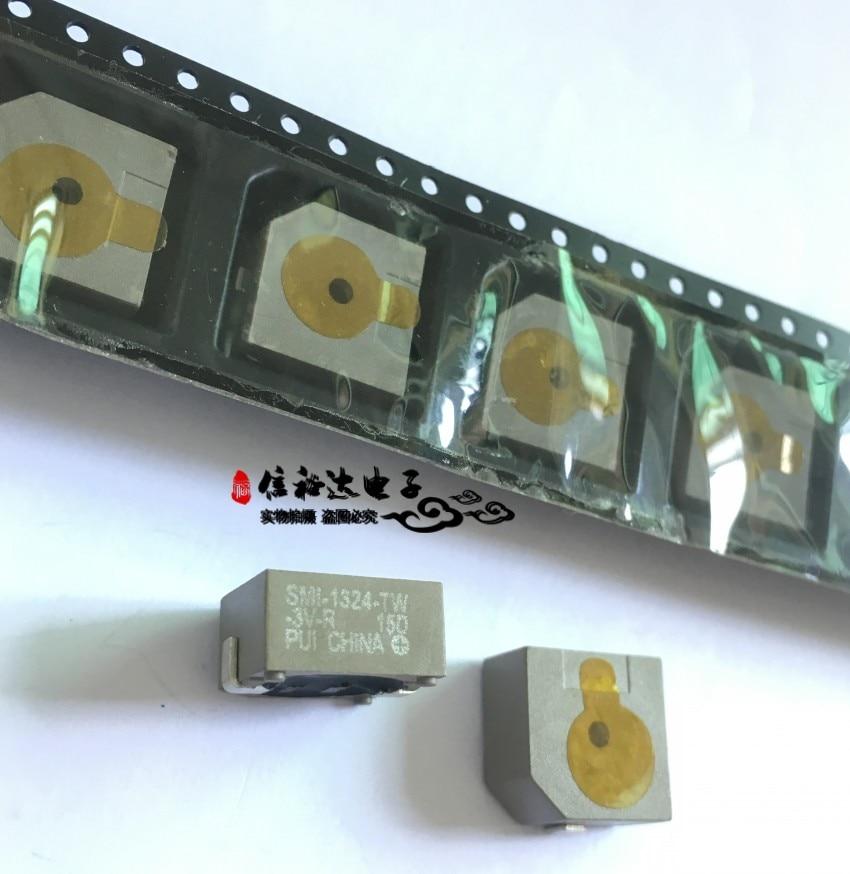 Original nuevo 100% SMI-1324-TW-3V-R SMD, zumbador, 3V 75DB 12,8 MM x 6,5mm (SMD)