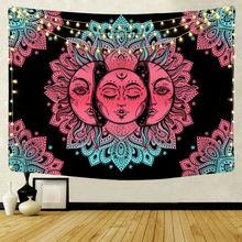 Multicolour Mandala Wall Hanging Tapestry Poster Boho Meditation Yoga Mat
