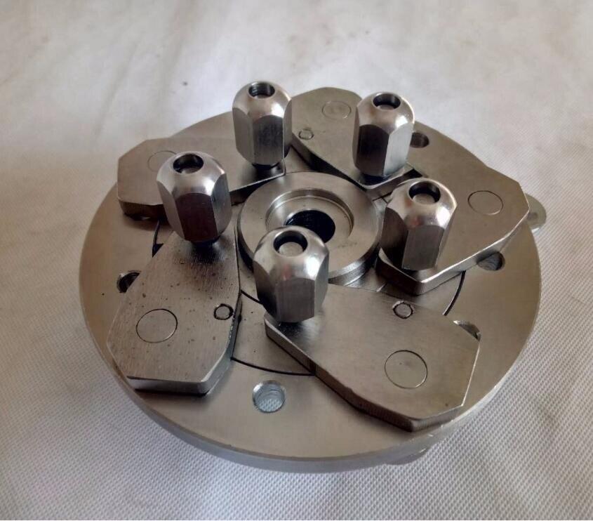 36/40MM Adjustable Adaptor Quickplate Car Auto Motorcycle Tire Wheel 5 Lug Balancer Adapter Universal Flange Plate