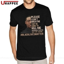 Je ne peux pas respirer les vies noires matière t-shirt garçons de haute qualité t-shirt Homme manches courtes marques vêtements de créateurs