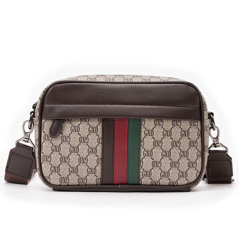 Fashion Men's Crossbody Bags Luxury Handbags Designer Leather Purse Men Messenger Shoulder Bag Desig