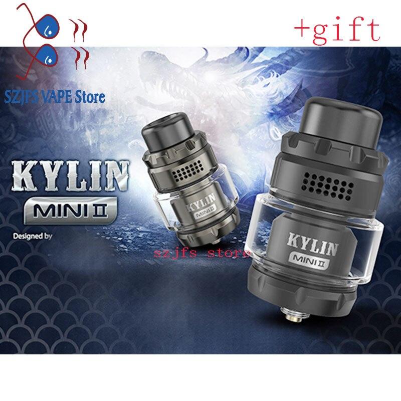 Kylin v2 Mini RTA Tank 3ml/5ml 24mm Top fill Single Coil Rebuildable Tank Atomizer rta vs Sirena V2 GTA MTL  Berserker V2 MTL rt enlarge
