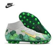 High Ankle Original Nike Superfly 7 Academy CR7 AG Men Football Boots Soccer Shoe Women Man Football Shoes Botas Training