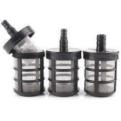 2 шт 8 ~ 14 мм шланг Труба фильтр ирригационный насос Фильтры распылитель мембранный насос Абсорбирующая фильтрующая Сетка Гаден полив фильтр сетка