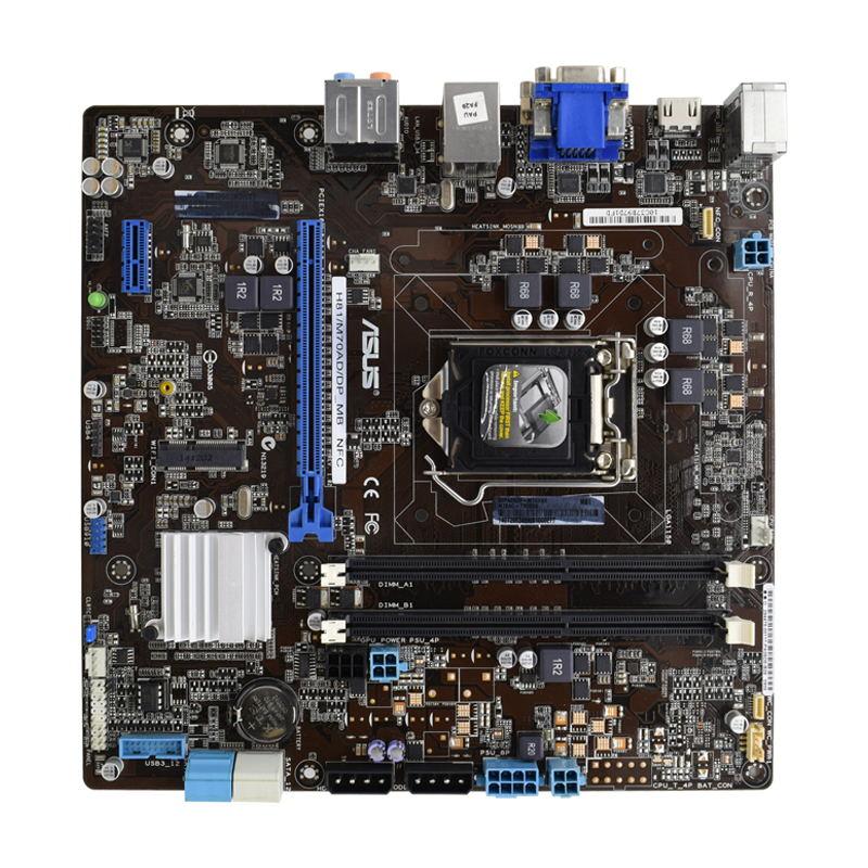 ل ASUS H81/M70AD/DP_MB H81 LGA1150 M70AD اللوحة DDR3 HDMI DVI تستخدم الكمبيوتر اللوحة الأم