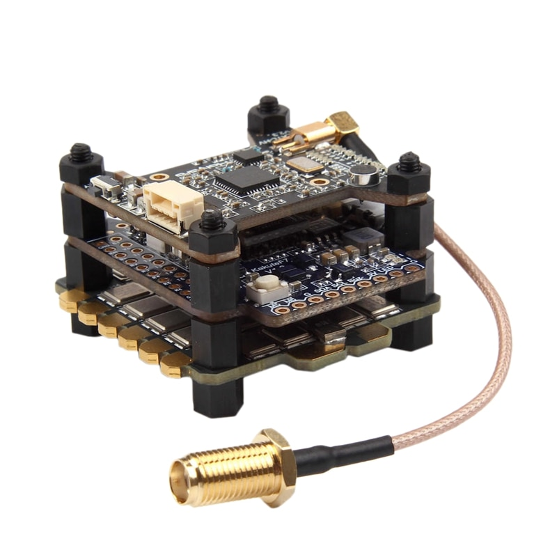 Holybro kakute f7 controlador de vôo & atlatl hv v2 40ch vtx e 65a bl_32 tekko32 f3 metal 4in1 esc combo para rc zangão