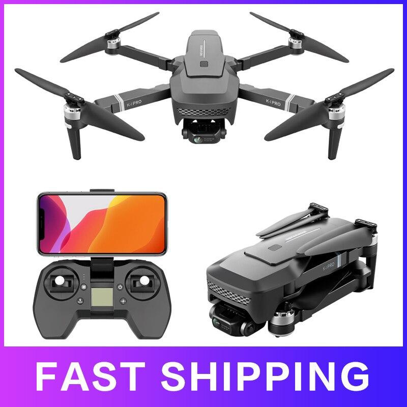 Dron profesional K1 Pro 4k con gps, 5g, wifi, HD, 2 ejes, cardán, Motor sin escobillas, 1km, cámara, cuadricóptero 2020