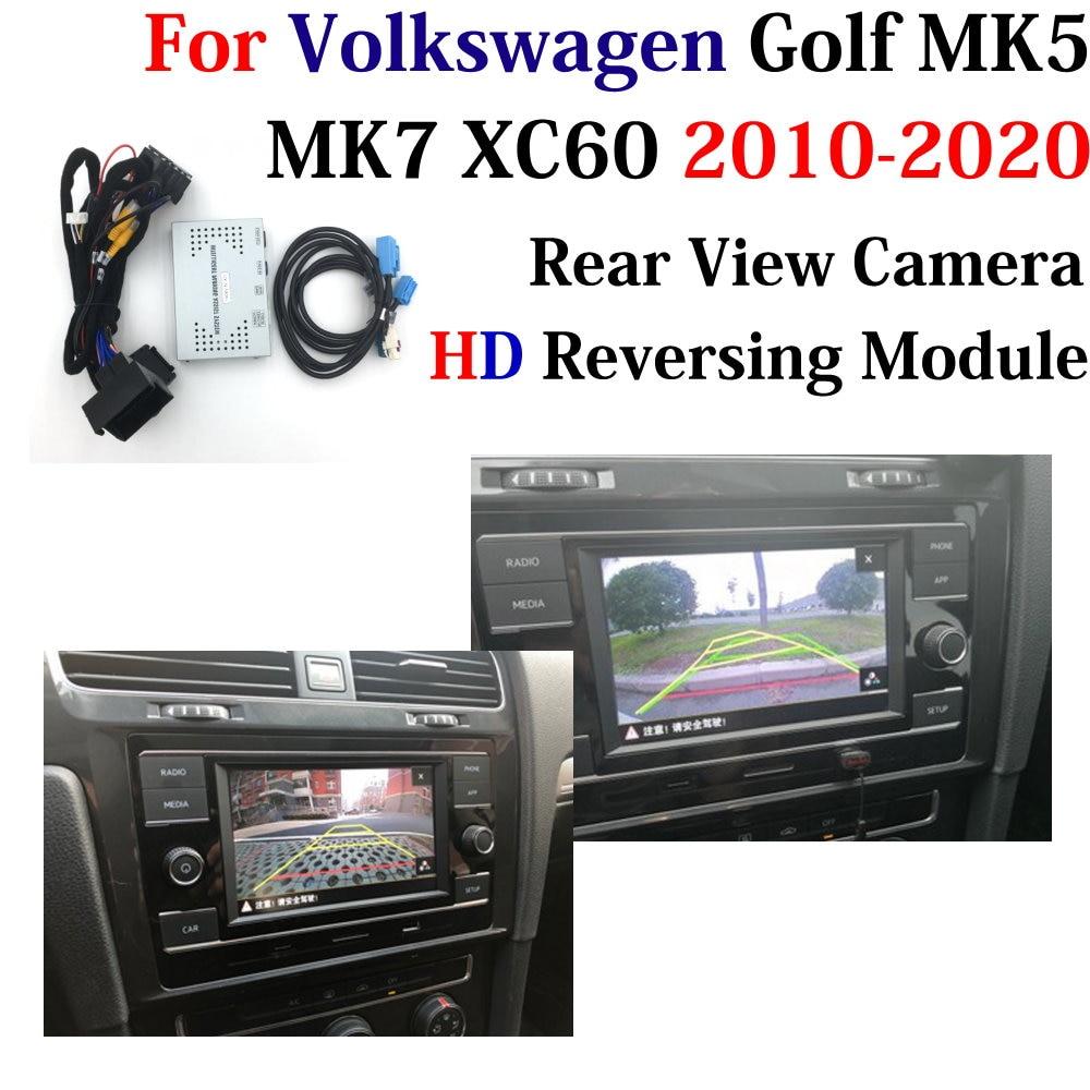 Car Rear Camera Decode For Volkswagen VW Golf MK5/7 2010~2020 Interface Adapter Original Display Reversing Camera Parking System