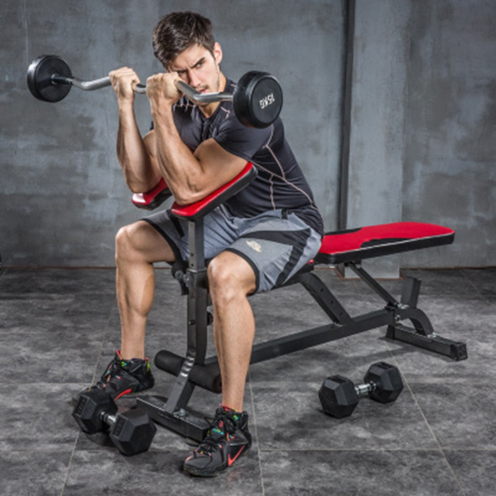 30kgFixed Barra de goma traje de fitness casa barra vara curva 1,2 m de levantamiento de pesas de equipos de fitness nada contrapeso
