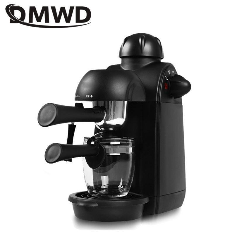 DMWD 240 مللي ماكينة صنع قهوة اسبريسو الايطالية ماكينة القهوة الكهربائية كابتشينو الحليب فروذرز الحليب الرغوي ارتفاع ضغط البخار 220 فولت