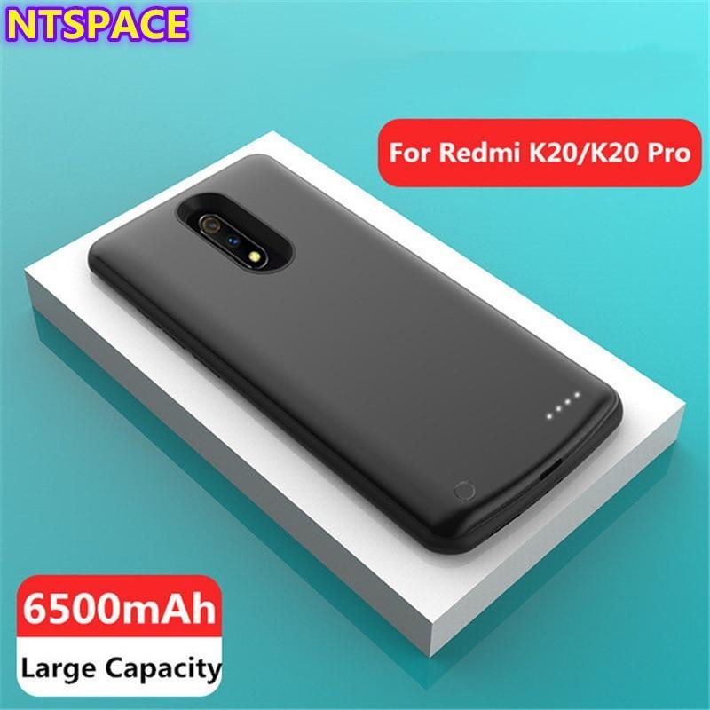 Funda de batería de respaldo de 6500mAh para Redmi K20 Pro, funda de cargador tipo batería externa portátil para Xiaomi Redmi K20, funda de carga de batería