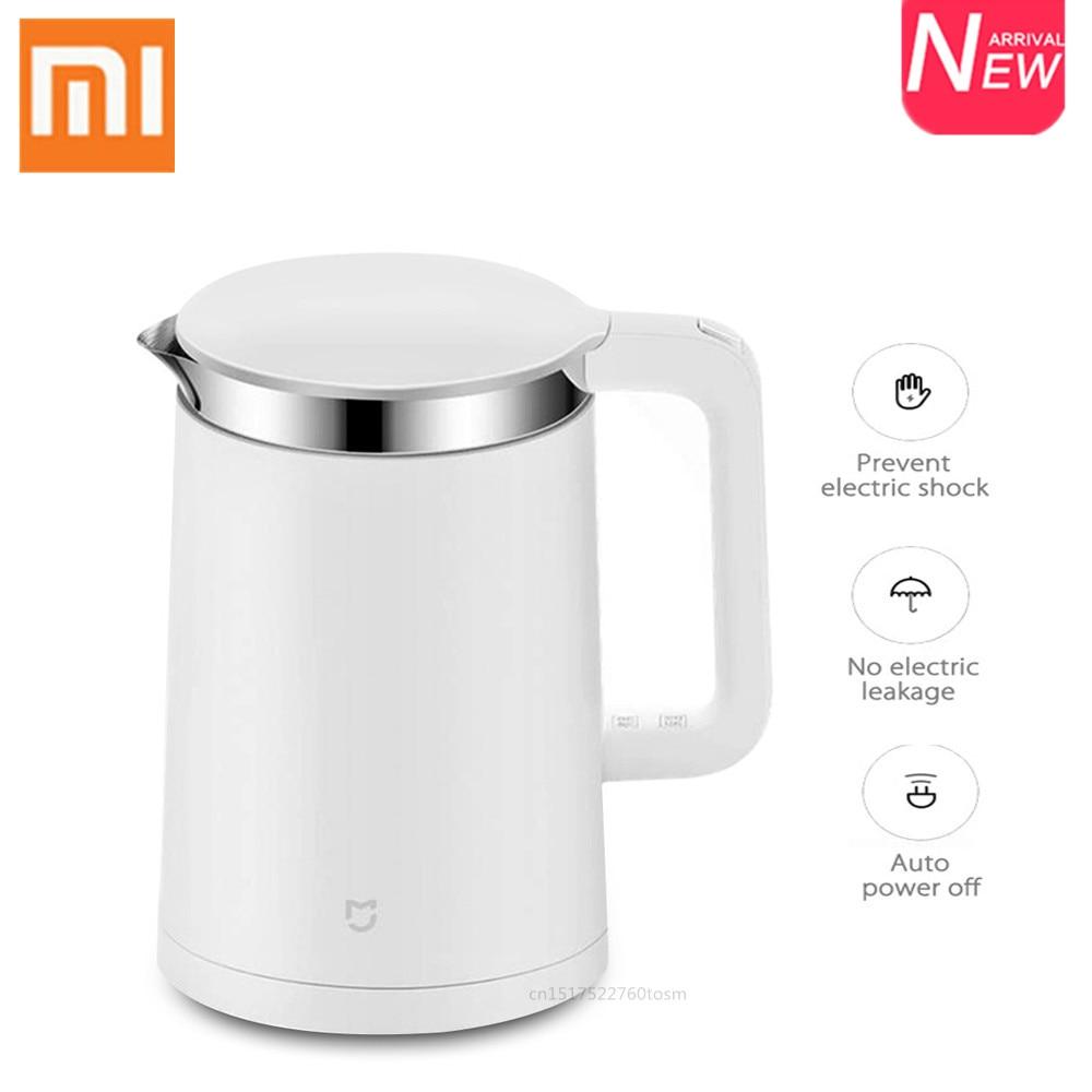Электрический чайник Xiaomi Mijia, 1,5 л, чайник с быстрой кипящей водой, Умный домашний контроль через приложение, чайник с постоянной температуро...
