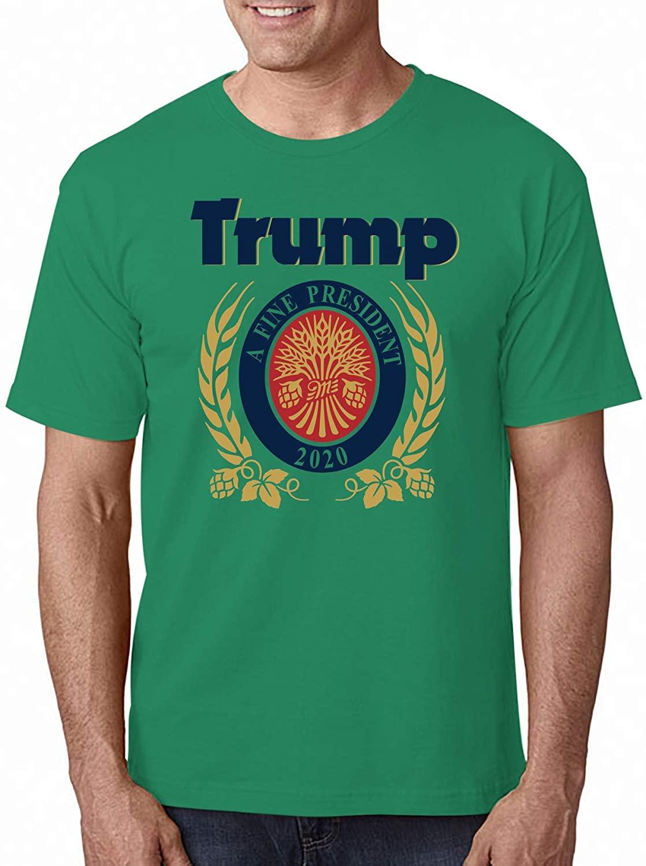 Camiseta con estampado de regalo con dibujo de Trump Lite, fantástica camiseta de verano 2020 transpirable, camiseta de manga corta totalmente de algodón
