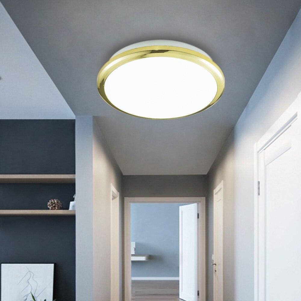 Zerouno-مصباح سقف Led ، مصباح سقف 18 واط ، 24 واط ، 30 واط ، 32 واط ، 100-240 فولت ، إضاءة يومية للمطبخ وغرفة المعيشة وغرفة النوم