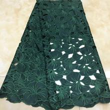 Beautiful African Handcut lace fabric soft tulle lace african french lace Used for women Party dress