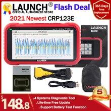 Диагностический инструмент Launch X431 CRP123E OBD2 ENG ABS подушка безопасности SRS на Creader 123E OBDII EOBD считыватель кодов Сканер