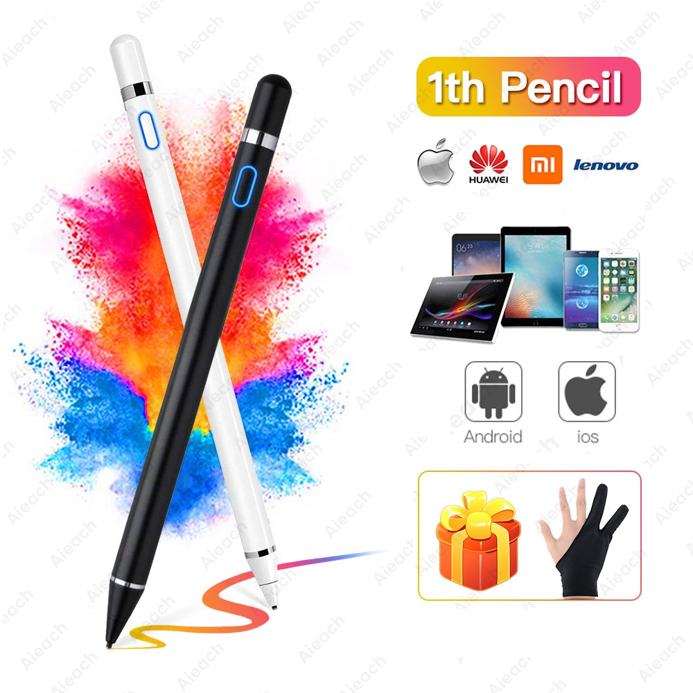 For Apple Pencil 2 1 iPad Pen Touch For Tablet iPad Stylus Pen For iPad Pro 11 12.9 7th 8th Mini 5 Air 3 4 For Apple Pencil iPad