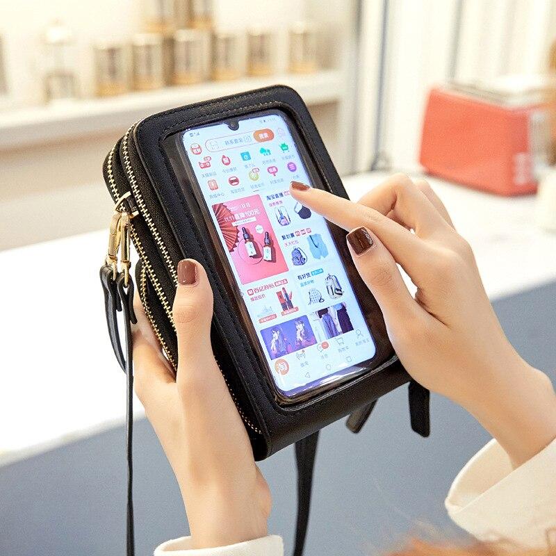 جراب هاتف خلوي عالمي مع شاشة تعمل باللمس ، جراب هاتف ذكي خارجي ، للجري والرياضة ، لهاتف IPhone/Huawei/xiaomi
