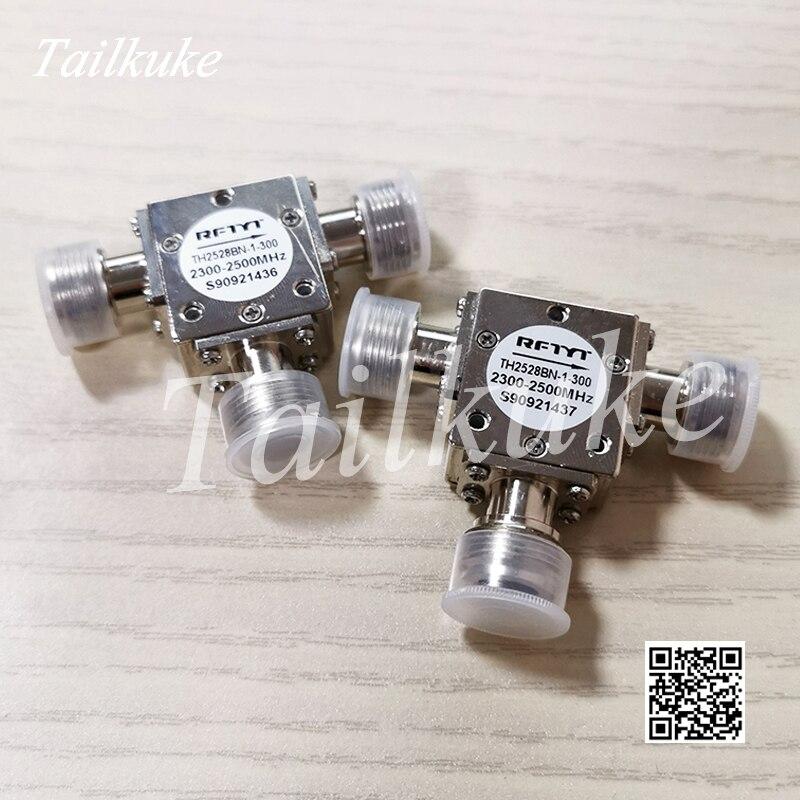 Circulador coaxial de TH2528BN-1-300/2300-2500 mhz