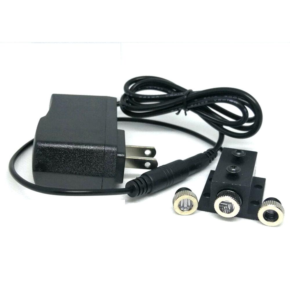 405nm azul roxo laser dot linha cruz 12mm x 45mm modulo de diodo 50mw com adaptador
