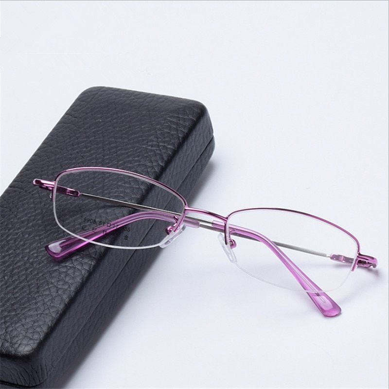 Blue light glasses Prescription Women Eyeglasses Optical Frame Myopia Farsighted Progressive Multifo