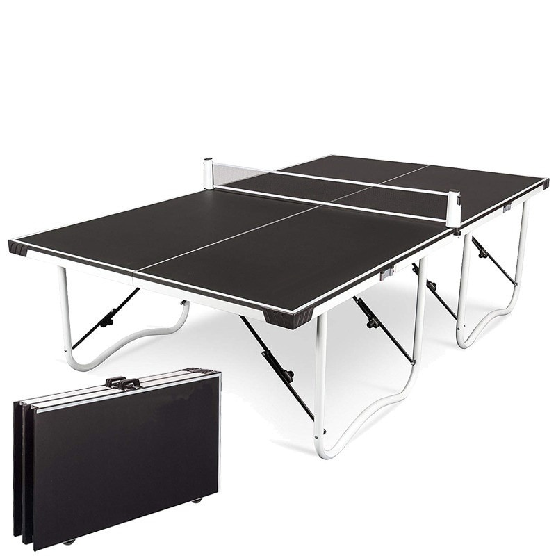 Selfree Portable Home Folding Portable Indoor With Wheels Standard Table Tennis Tables 2021 New Outdoor Sport