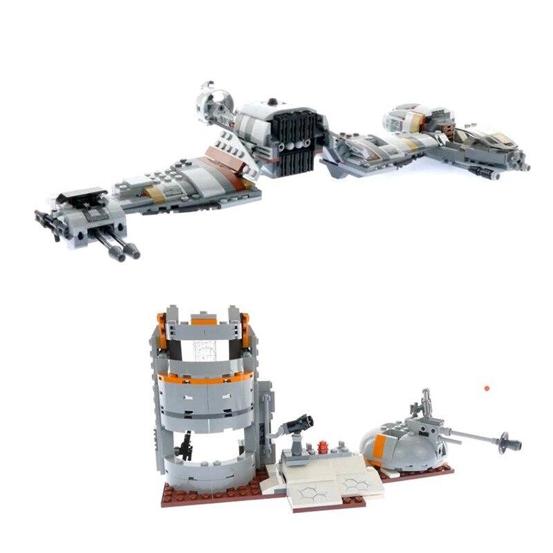 Новинка 773 шт Moc защита Crait модель строительные блоки кино фигурки кирпичи набор подарки развивающие игрушки для детей
