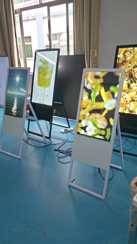 43 50 pulgadas portátil plegable android OS wifi pantalla lcd monitores